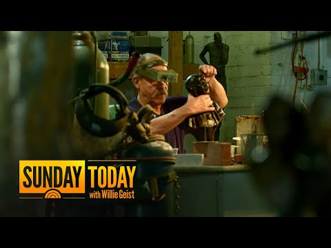Man Uses Sculpting To Teach Others About Black History | Sunday TODAY