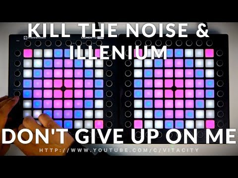 Kill The Noise & Illenium - Don't Give Up On Me // Launchpad Performance [Kaskobi Collaboration]