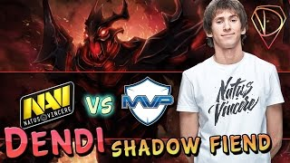 Dendi Shadow Fiend. Na`Vi vs MVP (game 2) @TI 5 group stage