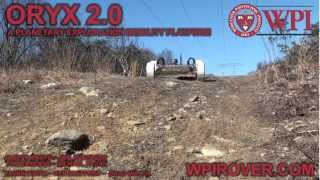 WPI's Oryx 2.0 Rover - RASC-AL Robo-Ops Midterm Review