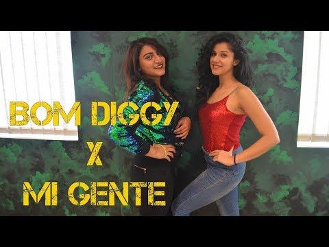 Bom Diggy x Mi Gente | Bollyhop Dance Choreography | Nidhi Kumar