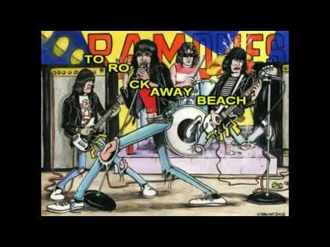 Ramones   Rockaway Beach with lyrics