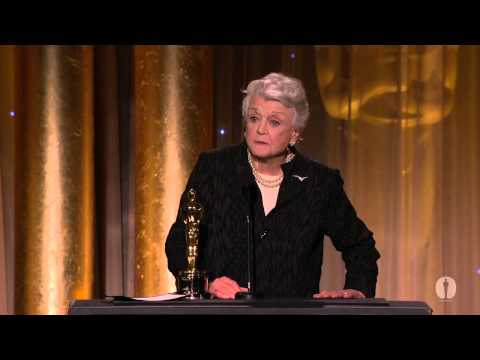 Angela Lansbury receives an Honorary Award at the 2013 Governors Awards