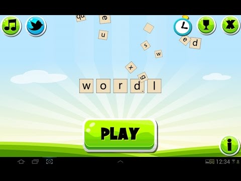 Wordl - a free word finding game for Android