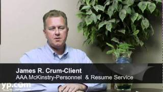 AAA McKinstry Resume Service Santa Ana CA Employment Writers