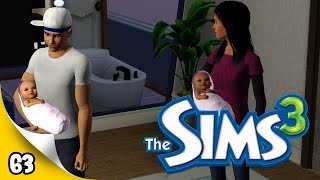 Sims 3 Pets - Ep 63 - Twin Babies!