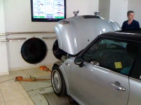Mini Cooper S chipped by Hamann dyno runs