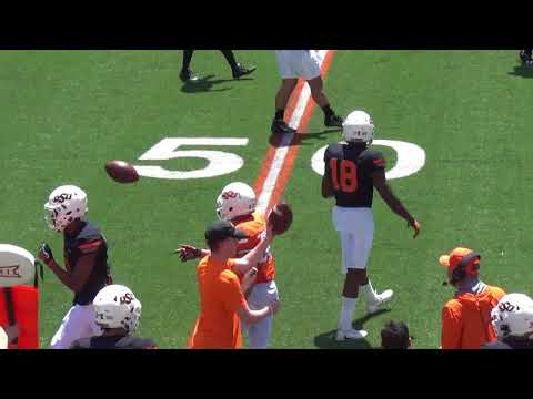 Oklahoma State Football Spring Game Highlights   04282018