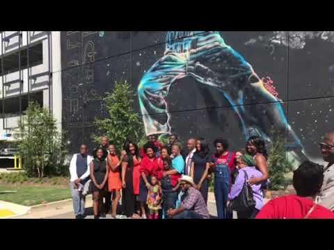 Hosea Williams Mural Dedication