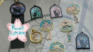 How-To Make UV Resin Open Bezels (Kawaii Craft Kits February 2019)