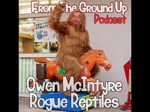 Owen McIntyre of Rogue Reptiles & Morelia Python Radio - From The Ground Up (Reptile Podcast)