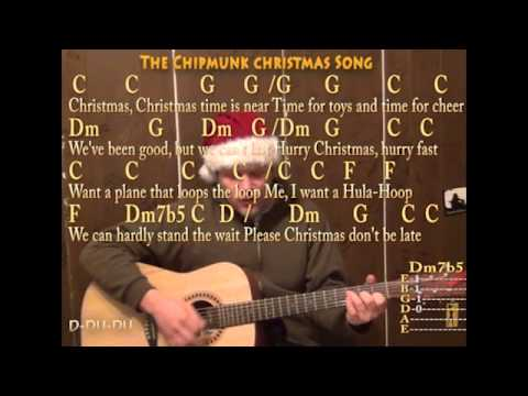 Christmas Don't Be Late (Christmas) Strum Guitar Cover Lesson with Lyrics Chords - Sing and Play