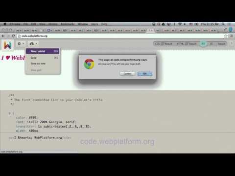 Web Platform Write-up: CSS Properties