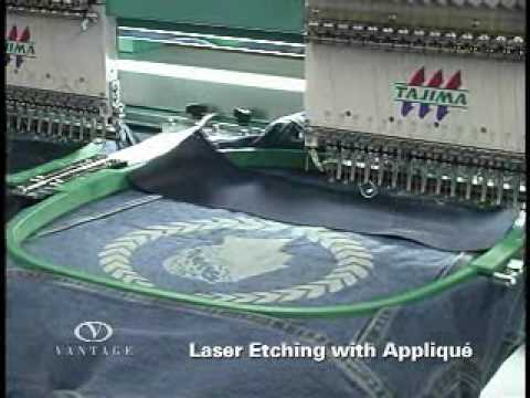 Laser Etching Adds a Unique Touch to Apparel