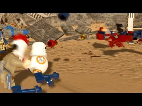 LEGO Star Wars: The Force Awakens - BUILD A POD-RACER Mission