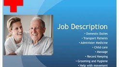 Home Health Aide Job Description and Salary