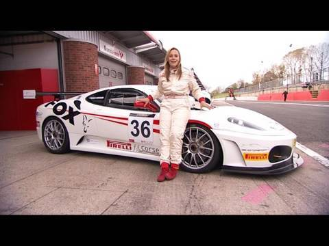 Fifth Gear Web TV Edition 14 - Ferrari GT Cup race & Mini E