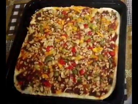 صورة  طريقة عمل البيتزا طريقة عمل البيتزا 🍕🍕 خطوة بخطوة طريقة عمل البيتزا من يوتيوب