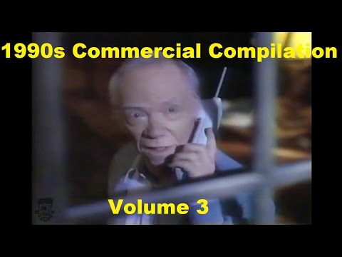 1990s TV Commercials Compilation Volume 3 Ray Walston Bebe Neuwirth