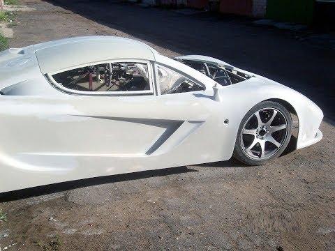 Mclaren F1 replica build Body Kit - Homemade supercar
