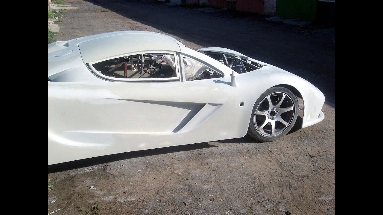 Mclaren Replica Build Body Kit Homemade Supercar Youtube