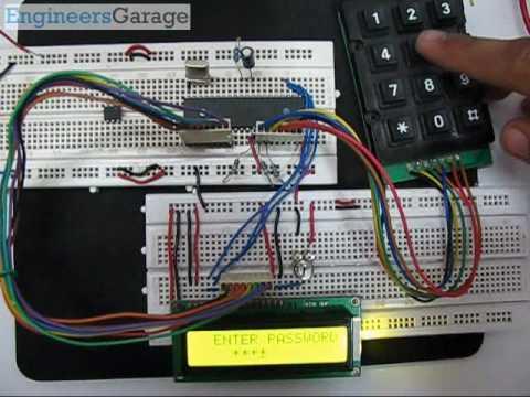 Keypad Door Lock >> Electronic Code Lock Project using 8051 Microcontroller - YouTube