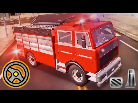 Firefighter Simulator 3D - City Fire Truck Parking Game | Android Gameplay