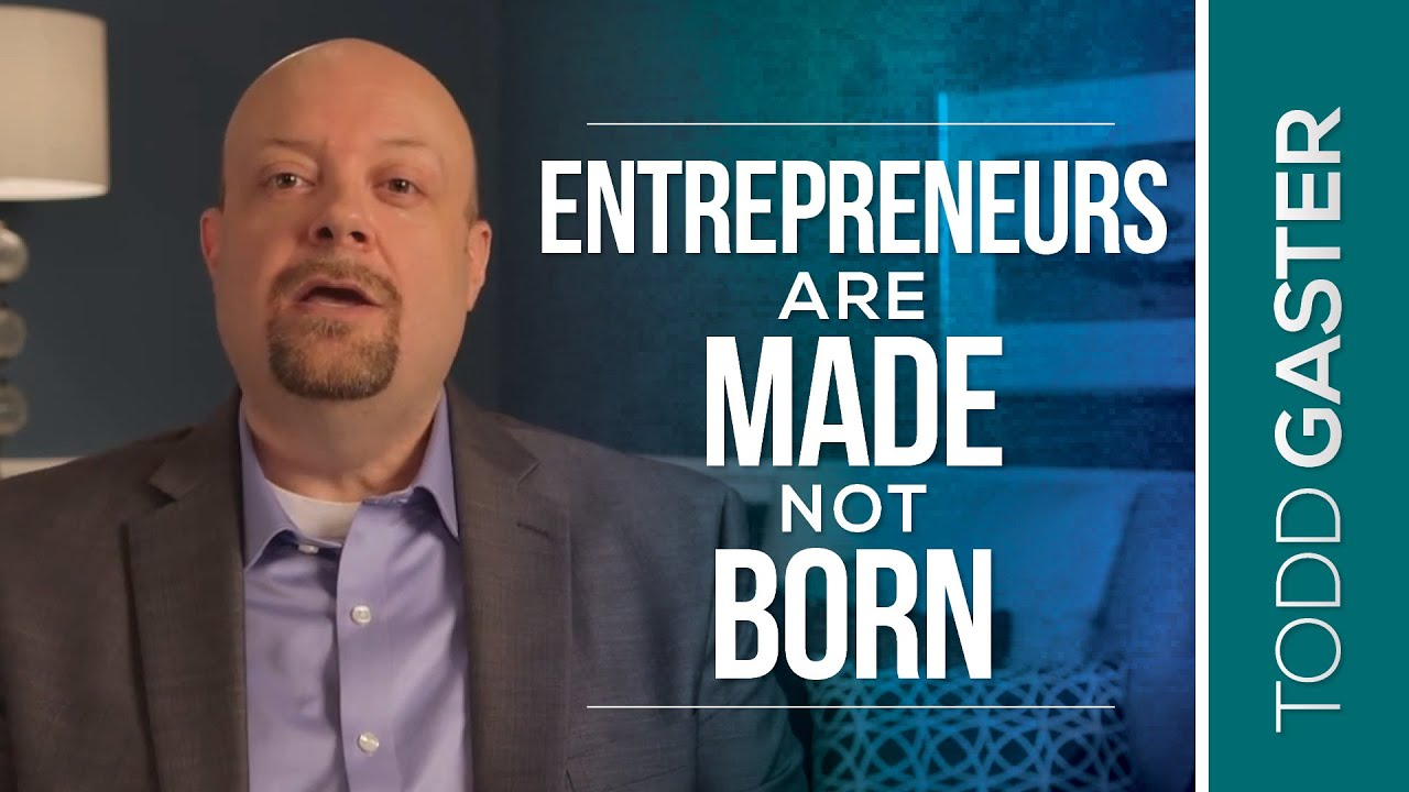 entrepreneurs born or made essay Are entrepreneurs made or born it is the qualities that make entrepreneurs successful, that are not inherent, but gotten through education and experiences.