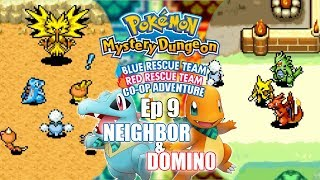 Ep 9; ZAPDOS KIDNAPS - Pokémon Mystery Dungeon: Blue/Red Rescue Team Co-Op w/ Neighbor