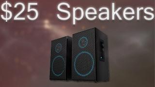 The Best $25 Speakers?