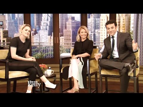 Kristen Stewart (Cafe Society) Chats Working With Woody Allen #LiveWithKelly