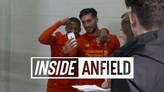 Inside Anfield: LFC 2-1 Burnley | TUNNEL CAM & GOALS