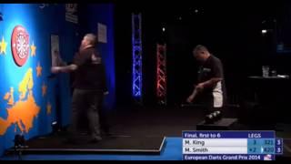 Final European Darts Grand Prix: Mervyn King - Michael Smith