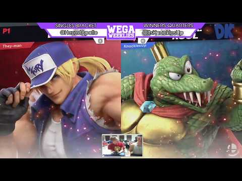 WU37 - WQF - Apollo (Terry) vs KnucklesUp (King K. Rool)
