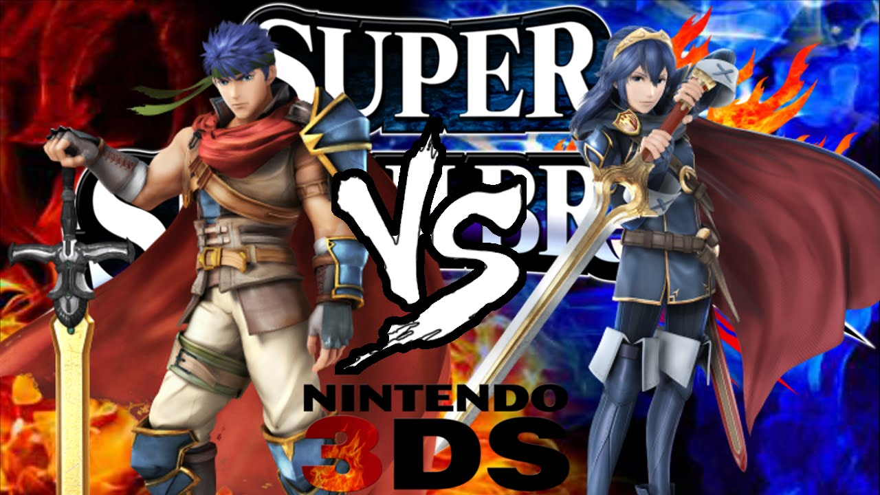 Ike vs Lucina SSB3ds - YouTube