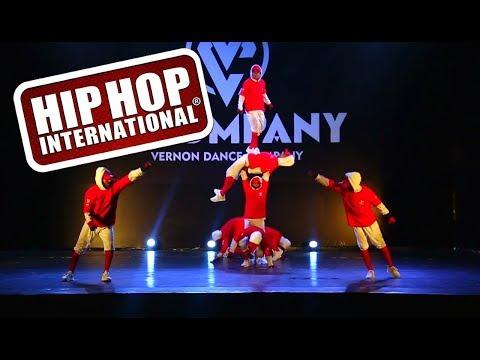 V COMPANY (TEAM INDIA) HHI 2017 DANCE || HIP - HOP INTERNATIONAL