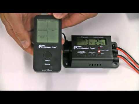 Solar Controller Installation Video from U.S. Sunlight Corp