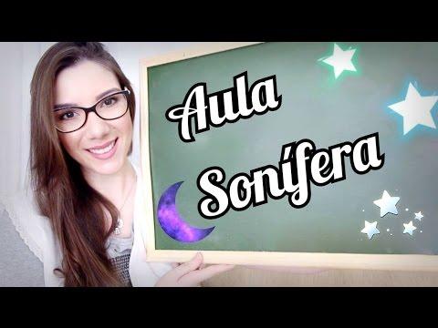ASMR Roleplay: PROFESSORA/TEACHER ~ Uma Aula Para dar Sono/To Sleep