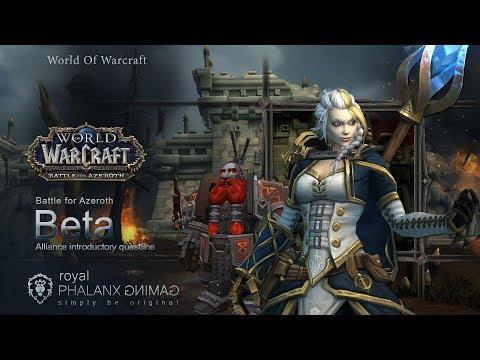 Battle For Azeroth Beta-dark Iron Dwarf-alliance