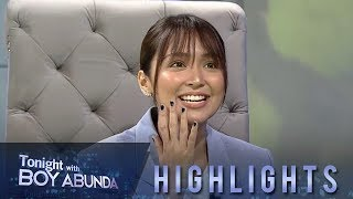 TWBA: Kathryn Bernardo reveals her first kiss with Daniel Padilla on TWBA 5 in 45