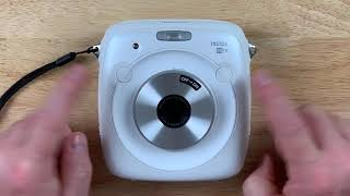 Fujifilm instax SQUARE SQ10 Unboxing & Review