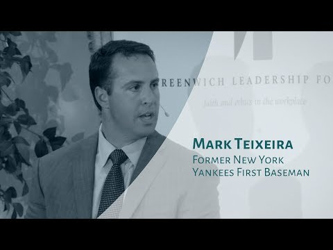 Mark Teixeira highlights values and faith as keys to success
