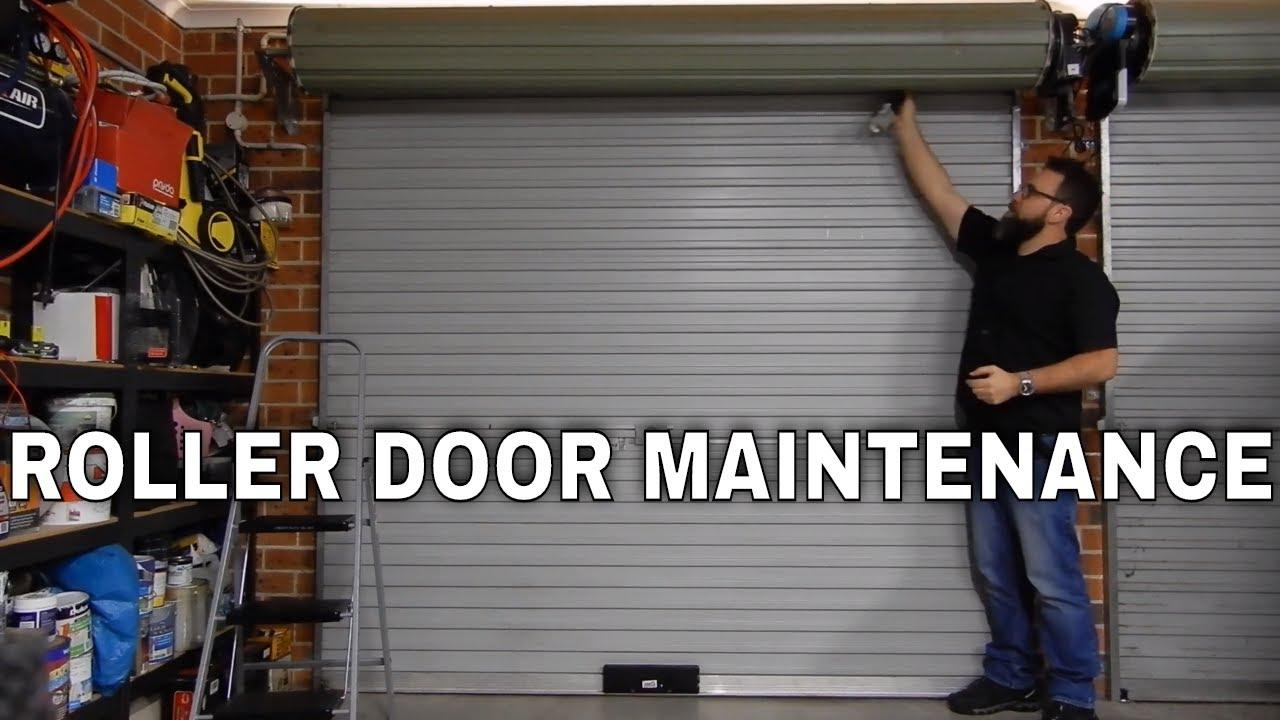 Garage Roller Door Maintenance Fixing