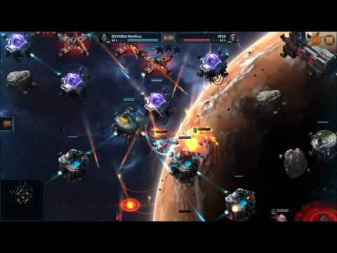 VEGA Conflict: Scorched Earth Base Attack