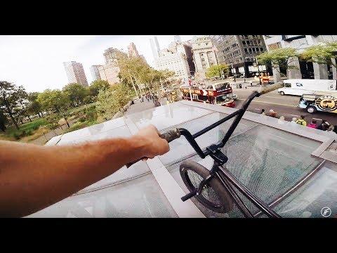 MASSIVE BMX NYC SUBWAY DROP IN!