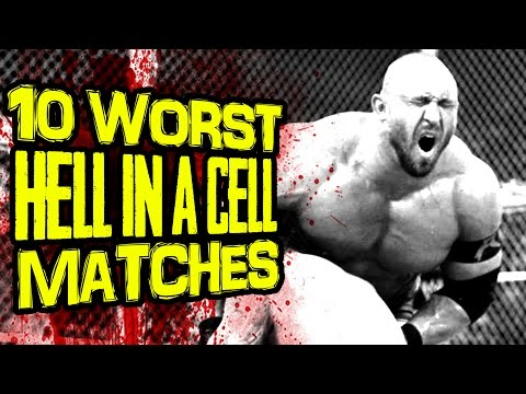 10 Worst WWE HELL IN A CELL Matches