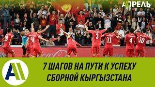 Семь шагов на пути к успеху сборной Кыргызстана по футболу \\ Апрель ТВ