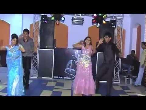 Neha Sahil Monu Honey dance on Tainu leke