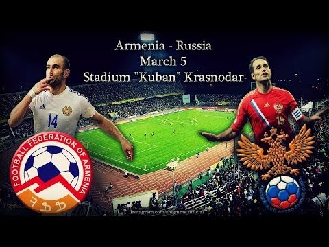 Russian Bears VS Armenian Eagles// Russia-Armenia 05.03.14 PROMO
