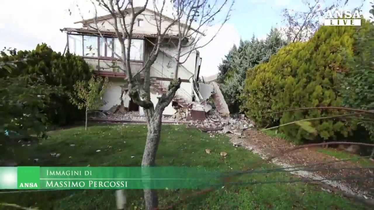 Case Di Pietra Terremoto : Terremoto centro amatrice posata la prima pietra della casa